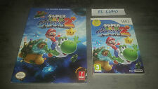 SUPER MARIO GALAXY 2 WII NINTENDO NEUF VERSION FRANCAISE + GUIDE OFFICIEL NEUF
