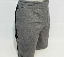 Under Armour Mens Athletic Training Shorts Fitted Gray w/ Black Size 2XL NEW