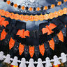 Paper Chain Garland Decorations Halloween Pumpkin Garland DIY Party Supplies Hot