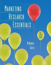 Marketing Research Essentials by Carl McDaniel and Roger Gates (2009,...