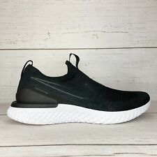 Nike Epic React Phantom Flyknit Black Running Shoes Men's Size 12, BV0417-001