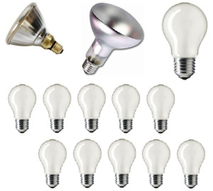 GE 80w / 100w PAR38 Flood, R95 Spot or GLS Bulbs - E27 (Pearl and Clear Finish)