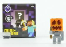 Minecraft Obsidian Figures Wave 4 1.5-Inch Figure - Skeleton Pumpkin Helm