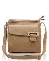 Women's Designer made Trendy Faux Leather multi pocket  Messenger Bags