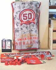 LOT OF 13 ANAHEIM ANGELS BANNER CUP MAT RALLY MONKEY TATTOOS BAG BACKPACK +