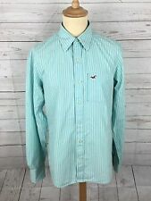 Men's Hollister Shirt - Size Large - Turquoise - Great Condition