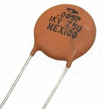 Murata Ceramic Disc Capacitors 5000pF, 1KV - Lot of  3, 10, or 25
