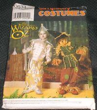 Simplicity Costume Patterns Tin Man Scarecrow Halloween 0634 Wizard of Oz UNCUT