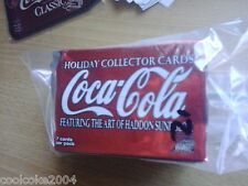 COCA-COLA COKE HOLIDAY 72 CARD SET THICK and rare in this condition