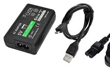 Power Supply Cable Wall UK Plug Charger Adapter for Sony PS Vita Console 2000