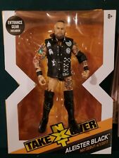 WWE Mattel Elite Aleister Black Wrestling Figure NXT Takeover BOX FIGURE