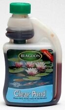 Blagdon Clear Pond 250ml for Crystal Clear Garden pond Interpet Cloudy Water