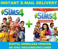 The Sims 4 + Cats and Dogs [Digital Download Account] PC/MAC | MULTILANGUAGE