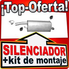 Silenciador Trasero FORD FIESTA V MAZDA 2 1.6 16V 2001-2007 Escape PRX