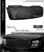 FOR 2007-2014 CHEVY TAHOE/SUBURBAN/AVALANCHE BLK MESH FRONT BUMPER GRILL GRILLE