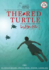 THE RED TURTLE Studio Ghibli Anime Movie DVD
