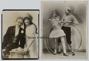 1900-20s Broadway Dancers & Singers Fred & Adele Astaire Photos (2pc) #2 BB