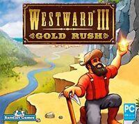 Westward III: Gold Rush   Steer the Fortunes of 3 Pioneers   Brand New Sealed