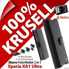 Krusell EKERO Folio Cartera BASE ABATIBLE Funda tipo folio para Sony Experia XA1