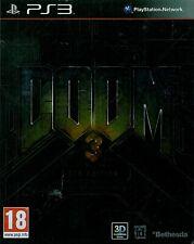 Doom 3 BFG Edition Sony Playstation 3 PS3 18+ FPS Shooter Game