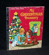 Little Golden Book #455 - My Christmas Treasury - stories & poems - 1983 HC