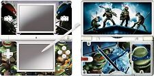 ninterndo DS Lite - TMNT - TURTLES - 4 Piece Decal / Sticker Skin vinyl