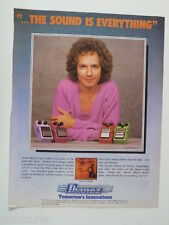 retro magazine advert 1982 IBANEZ lee ritenour