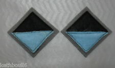 WW2 2/14th AIF Battalion color patchs=one pair