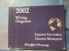 2002 GRAND MARQUIS & CROWN VICTORIA WIRING MANUAL