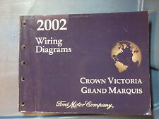 2002 FORD CROWN VICTORIA & GRAND MARQUIS WIRING MANUAL