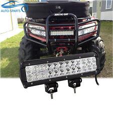 """12"""" INCH LED Work Light Bar Can Am Commander Maverick 1000 Utv Side by Side Quad"""