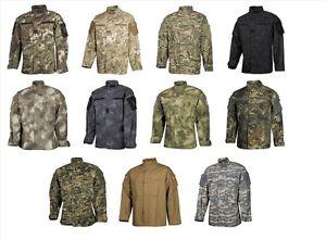 US Feldjacke, ACU, Rip Stop, Uniformjacke Armeejacke Outdorjacke Max Fuchs (MFH)