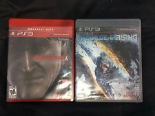 Metal Gear Solid Rising and Metal Gear Solid 4 (BUNDLE)