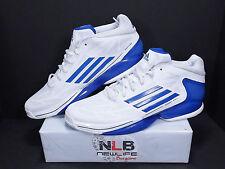 RARE 2012 Adidas AdiZero Sprint Web Q32696 White/Royal-Blue Men's Size 14