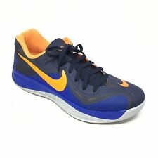 Men's Nike Hyperfuse Shoes Sneakers Size 11.5 Basketball Blue Orange Low Top F4