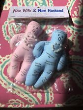NEW Voodoo Doll Marriage New Wife - New Husband PINK & BLUE 10 Pins 25 Qualities