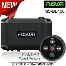 Fusion MS-BB100 Marine Black Box with Bluetooth Wired Remote│USB│AM/FM│DAB+│IPx7