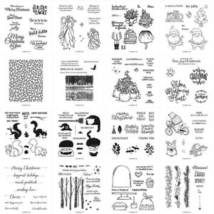 Christmas Happy birthday Metal Cutting Dies and Stamps For Scrapbooking
