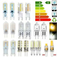 10pcs G4 G9 Halogen Capsule LED Light Bulbs 2W 5W 10W 20W 25W 40W 60W 12V Lamp