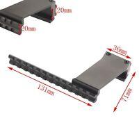 Universal Metal 20mm Weaver Picatinny Rail Mount For Rifle Scope Gun Laser Torch