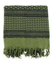 Shemagh verde y negro UK - Pañuelo palestino militar ejército arabe casual