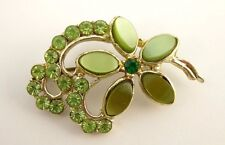 Vintage 1950s Art Deco Costume Hollywood Brooch  LAYBY