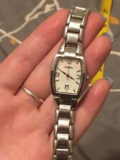 """FOSSIL watch Womens Mother Of Pearl Face 6"""" Pre-Owned"""