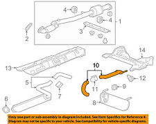 Chevrolet GM OEM 11-15 Cruze 1.4L-L4 Exhaust System-Exhaust Pipe 13343365
