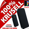 Krusell Donso Synthetic Leather Flip Case Cover Folio for Samsung Galaxy S5 Mini