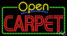 """New """"Open Carpet"""" 32x17 Solid/Animated Led Sign W/Custom Options 25481"""