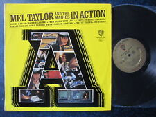 "MEL TAYLOR & THE MAGICS IN ACTION RECORD VINYL LP 12""  RARE MONO"