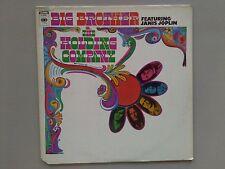 Big Brother w/ Janis Joplin original 1967 vinyl lp