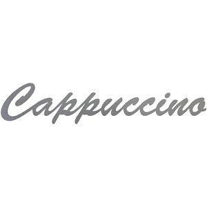 Cappuccino 37cm Lettering Sticker Tattoo Wall Decorative Film PVC Adhesive Foil