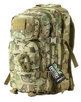 BTP Camo SMALL 28L Molle Assault Pack by Kombat UK - Backpack, Rucksack, MTP